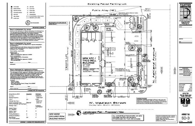 KFC/Taco Bell  New building - Church Building Floor Plans